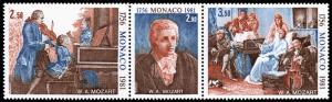 Monaco Scott 1277a (1981) Mint NH VF Complete Set B