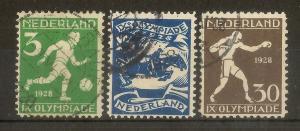 Netherlands 1928 Olympics Fine Used Cat£49