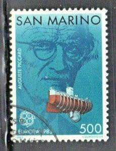 SAN MARINO  SCOTT# 1050 **USED** 1983  500L   EUROPA  SEE SCAN