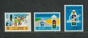 United Arab Emirates Sc#62-64 M/NH/VF, Cv. $29.75