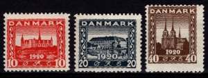 Denmark 1920-21 Recovery of Northern Schleswig, Part Set [Unused]