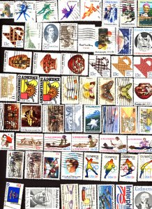 U.S. #Used collection of stamps, Mixed condition