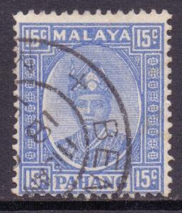Malaya Pahang Scott 36a - SG39, 1935 Sultan 15c used