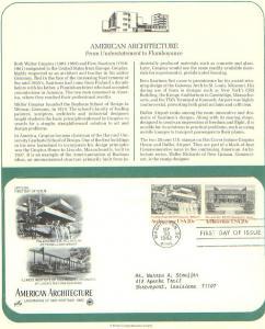 Architecture, FDC's (USHFDC2019)
