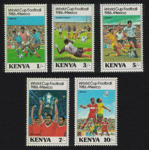 Kenya World Cup Football Championship 5v SG#379-383