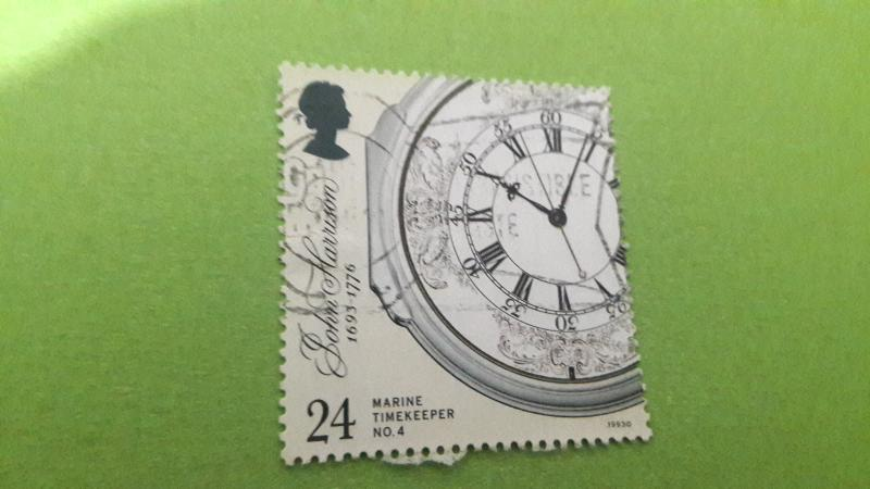 GREAT BRİTAİN USED STAMP