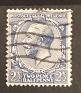 Great Britain 1912-13 #163, Used, CV$4.50