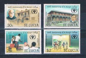 St Lucia 965-68 MNH set St Marys College 1990 (S0932)+
