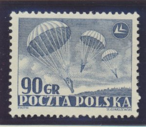 Poland Stamp Scott #557, Mint Hinged - Free U.S. Shipping, Free Worldwide Shi...
