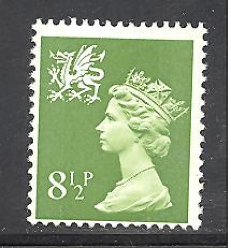 Wales & Monmouthshire # WMMH11 mint never hinged SCV $ 0.40