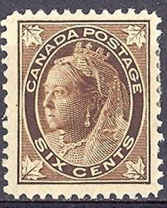 Canada #71  Mint VF Hinge Remnant