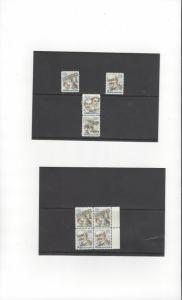 US C93-4  Singles, Pair, Block of 4 8 Stamps MNH