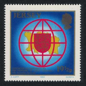 Jersey 13th General Assembly of the AIPLF Jersey 1v SG#319