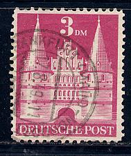 Germany Deutsche Post Scott # 660, used, variation wmk