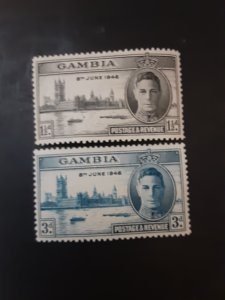 *Gambia #144-145**