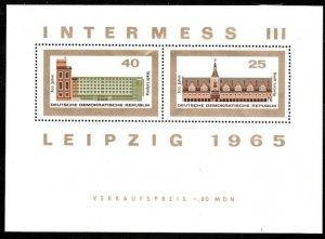 DDR #782a MNH S/S CV$2.00