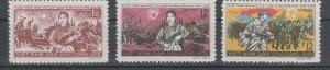 Vietnam 1966 MNH Stamps Scott 432-434 Soldiers Women Prisoners of War Guerilla