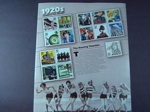 U.S.#3184-MNH-- PANE OF 15 STAMPS-CELEBRATE THE CENTURY THE 1920'S----1998