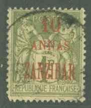 France Zanzibar 26 Used F