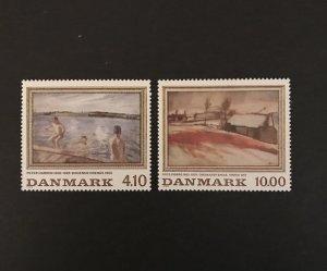 Denmark 1988 #863-4 MNH CV $9.75