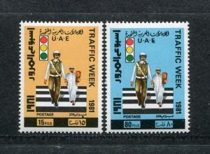 United Arab Emirates 131-134, MNH, Traffic Day 1981 x28434