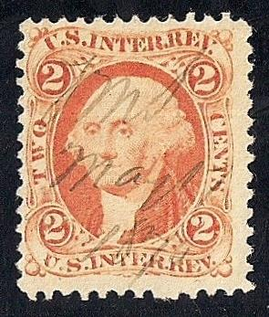 R15C 2 Cents US Internal Revenue Stamp Used F HipStamp
