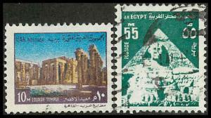 Egypt 893, 900 Used VF