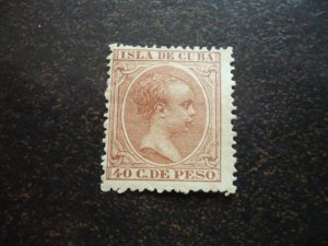 Stamps - Cuba - Scott# 154 - Mint Hinged Single Stamp
