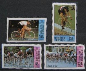 1980 Upper Volta 808-811 Overprint # 795-798 11,00 €