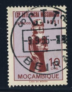 PORTUGAL / MOZAMBIQUE Mi.414 used 1955/56 C.T.T. / BEIRA CDS ( 5 available )