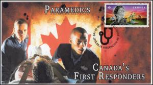 CA18-042, 2018, First Responders, Pictorial, FDC, Paramedics