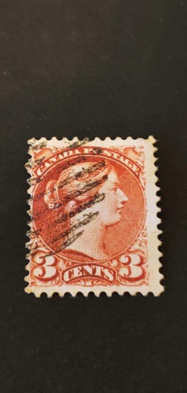 Canada #37b Used CV 65