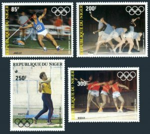 Niger C324-C328,MNH.Michel 846-850. Pre-Olympics Year Los-Angeles-1984.