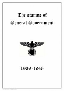 Germany Third Reich Poland General Government 1939-1945
