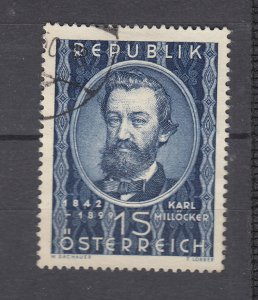 J29474, 1949 austria hv of set used #562 music