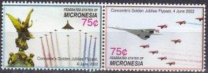 Micronesia #721-2 MNH CV $6.00  (Z7986)