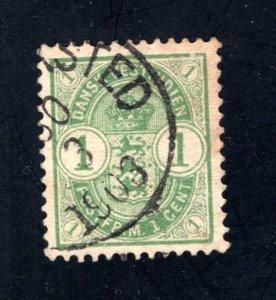 Danish West Indies #21,  VF,  Used, 1903 cancel  CV $3.00 ....1630018