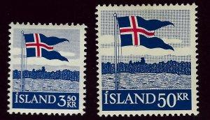 Iceland SC#313-314 Mint OG F-VF...Grab a Deal!