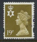 Great Britain Northern Ireland SG NI69 SC# NIMH57  Machin 19p Used  see scan