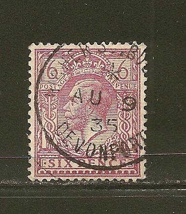 Great Britain 167 King George V Used