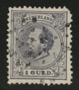 Netherlands Scott 32 used 1888 CV$40