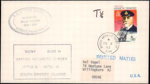 British Antarctic Territory #111, Antarctic Cachet and/or Cancel