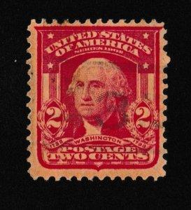 U.S. Washington 2c SC #319