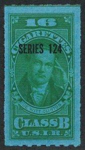 UNITED STATES MINT TB233 CLASS B, SERIES 124 (1954) 16 GREEN
