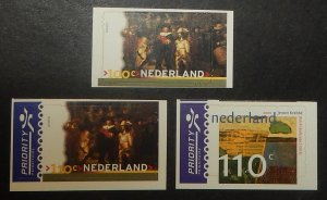 Netherlands 1051-53. 2000 Paintings, NH