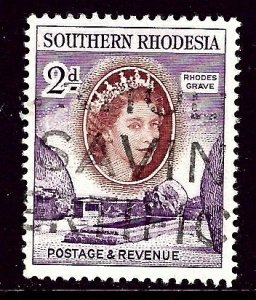 Southern Rhodesia 83 1953 issue    (ap3958)