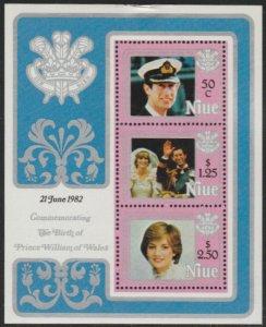 Niue #356a MNH Souvenir Sheet cv $6