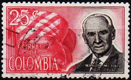 Colombia. 1965 25c S.G.1150 Fine Used