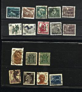 India 35 different  used PD