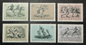 Luxembourg 280-85. 1952 Olympic Games